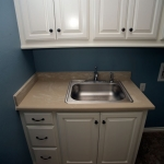 Engineered Marble Utility Room Countertop